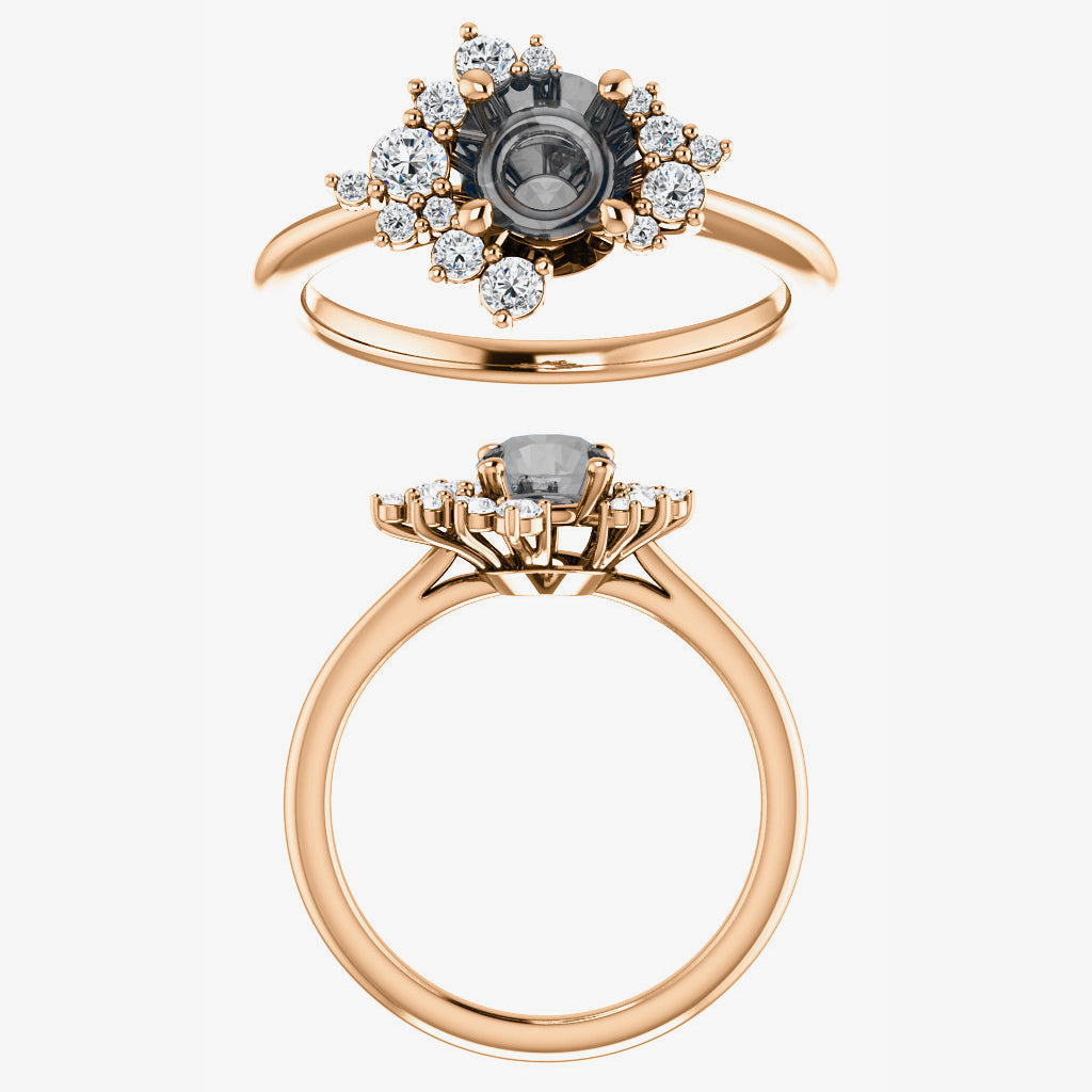 Orion setting - Celestial Diamonds ® by Midwinter Co.