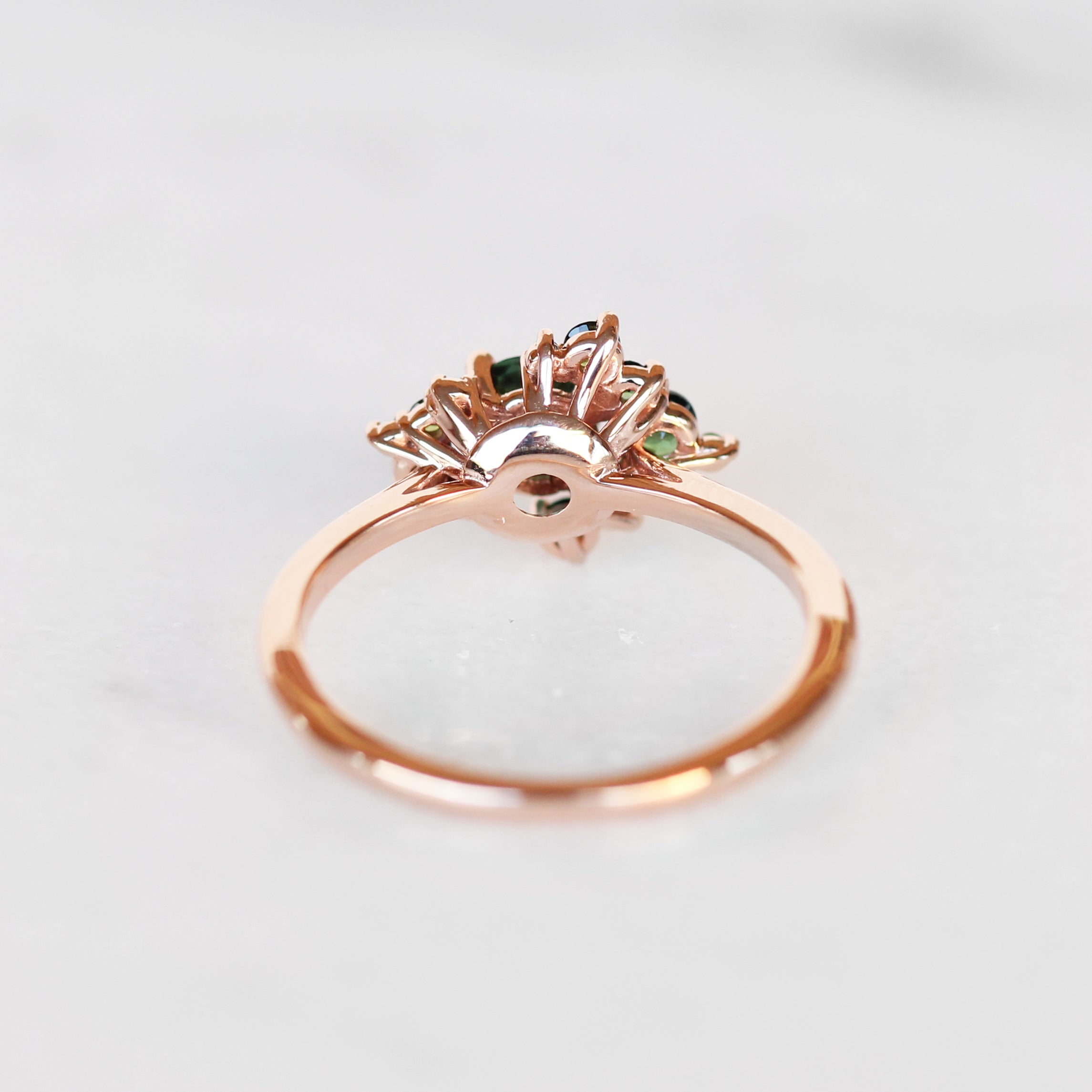 Orion Ring with all Tourmaline - Cluster ring - Celestial Diamonds ® by Midwinter Co.