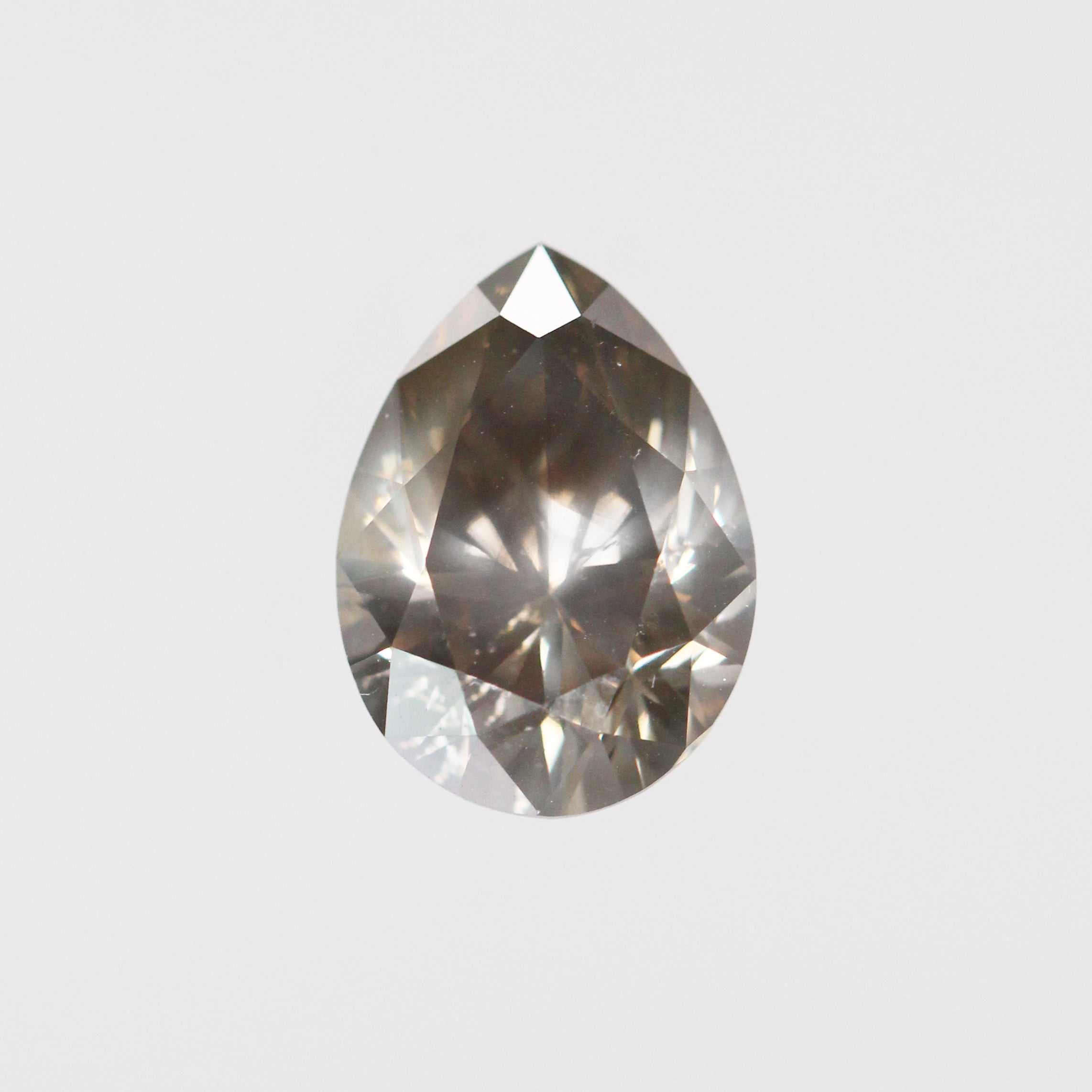 2.54 Carat Pear Celestial Diamond for Custom Work - Inventory Code PBCH254 - Celestial Diamonds ® by Midwinter Co.