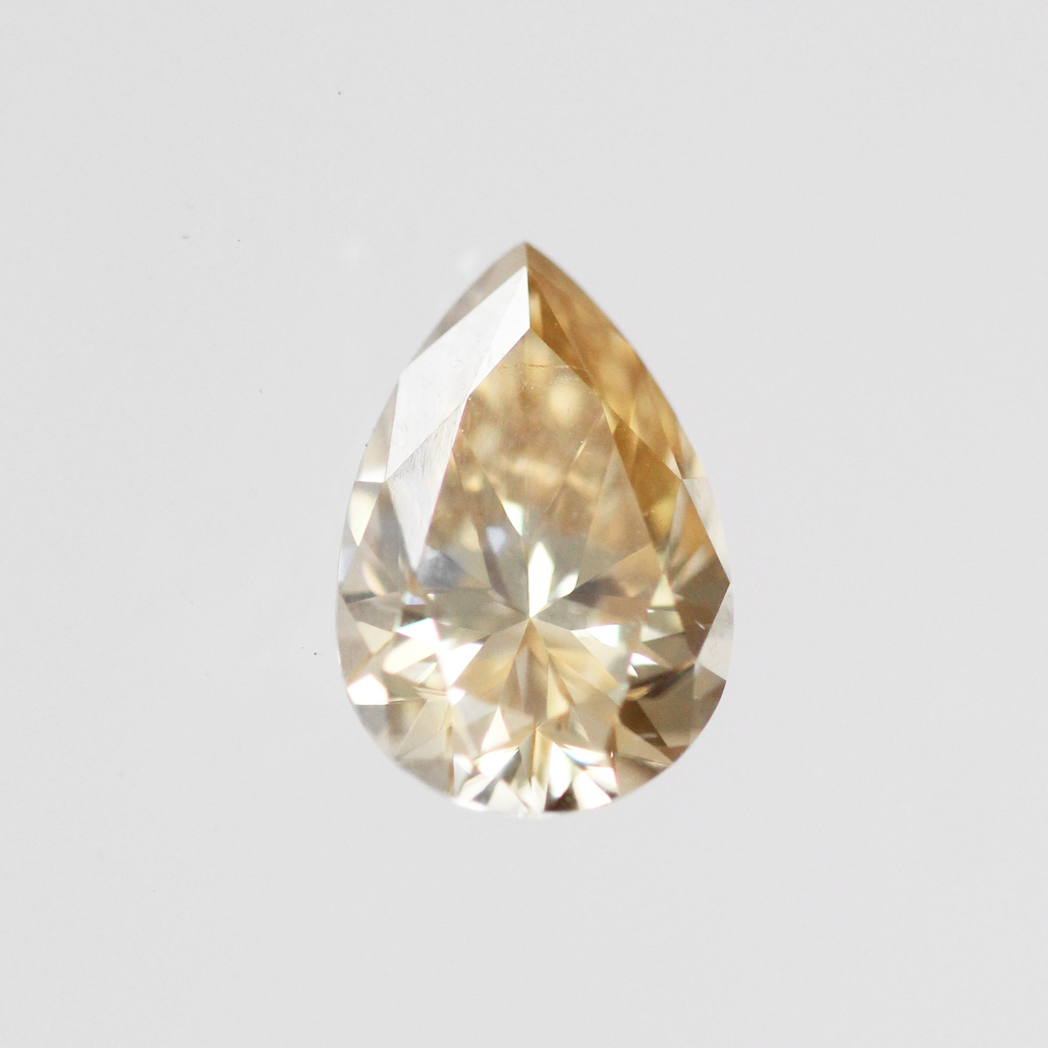 1.80 Carat Pear Moissanite- Inventory Code PBMOI180 - Celestial Diamonds ® by Midwinter Co.