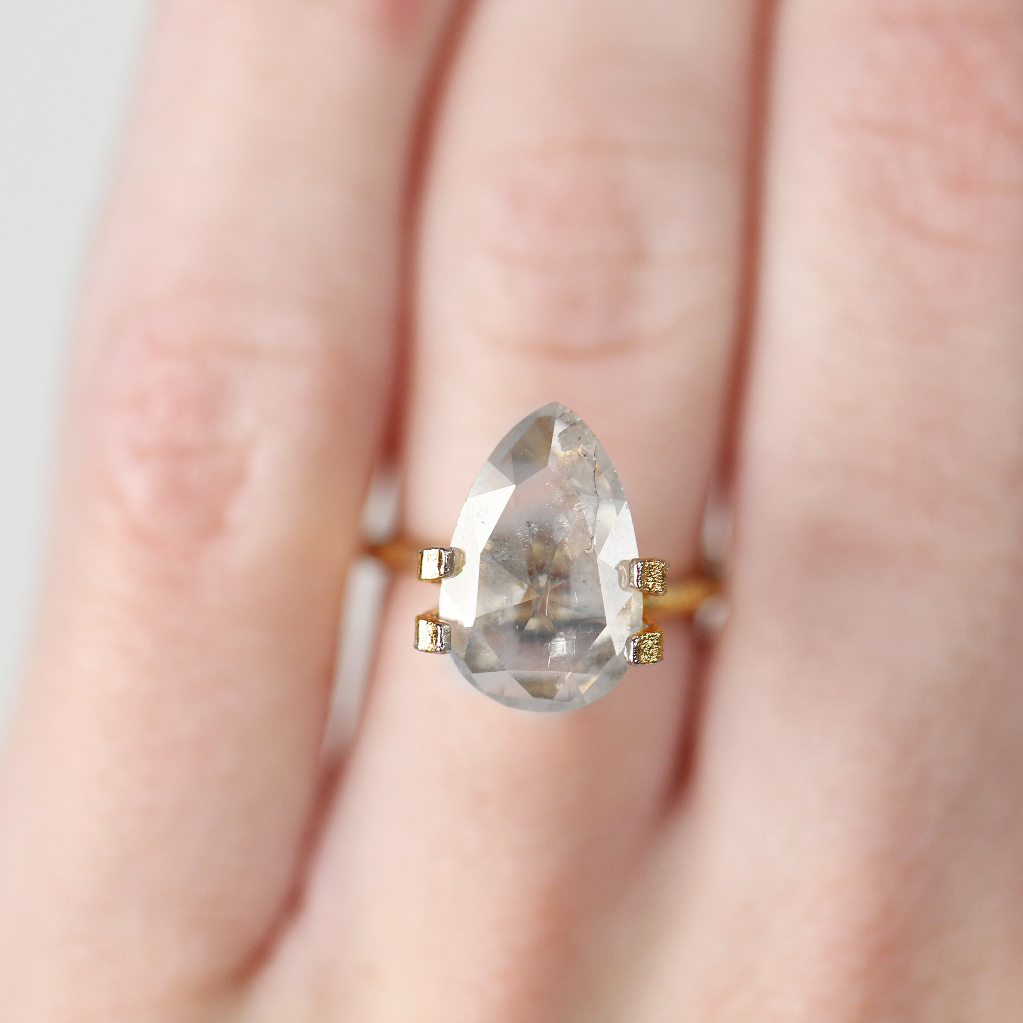 3.62 Carat Pear Celestial Diamond- Inventory Codee PRC362 - Celestial Diamonds ® by Midwinter Co.