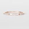Primrose Baguette Band Stackable Ring in Your Choice of 14k Gold - Celestial Diamonds ® by Midwinter Co.