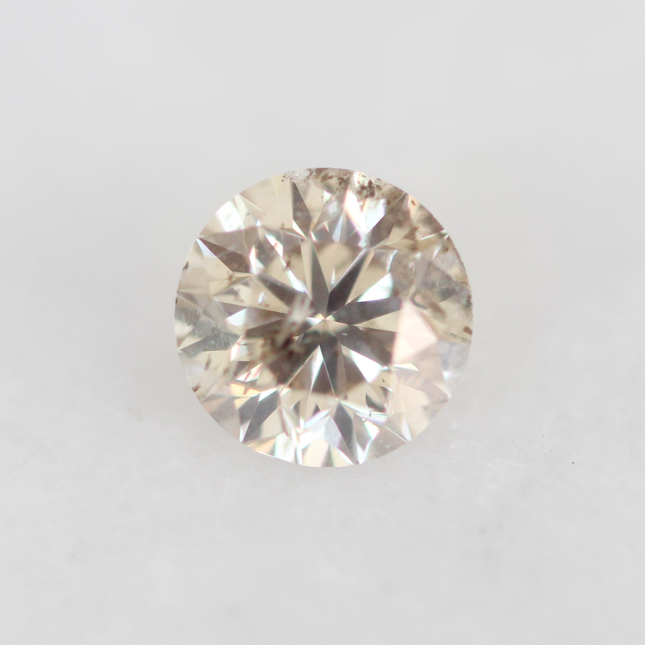 1.55 Carat Round Celestial Diamond for Custom Work - Inventory Code RBRC155 - Celestial Diamonds ® by Midwinter Co.