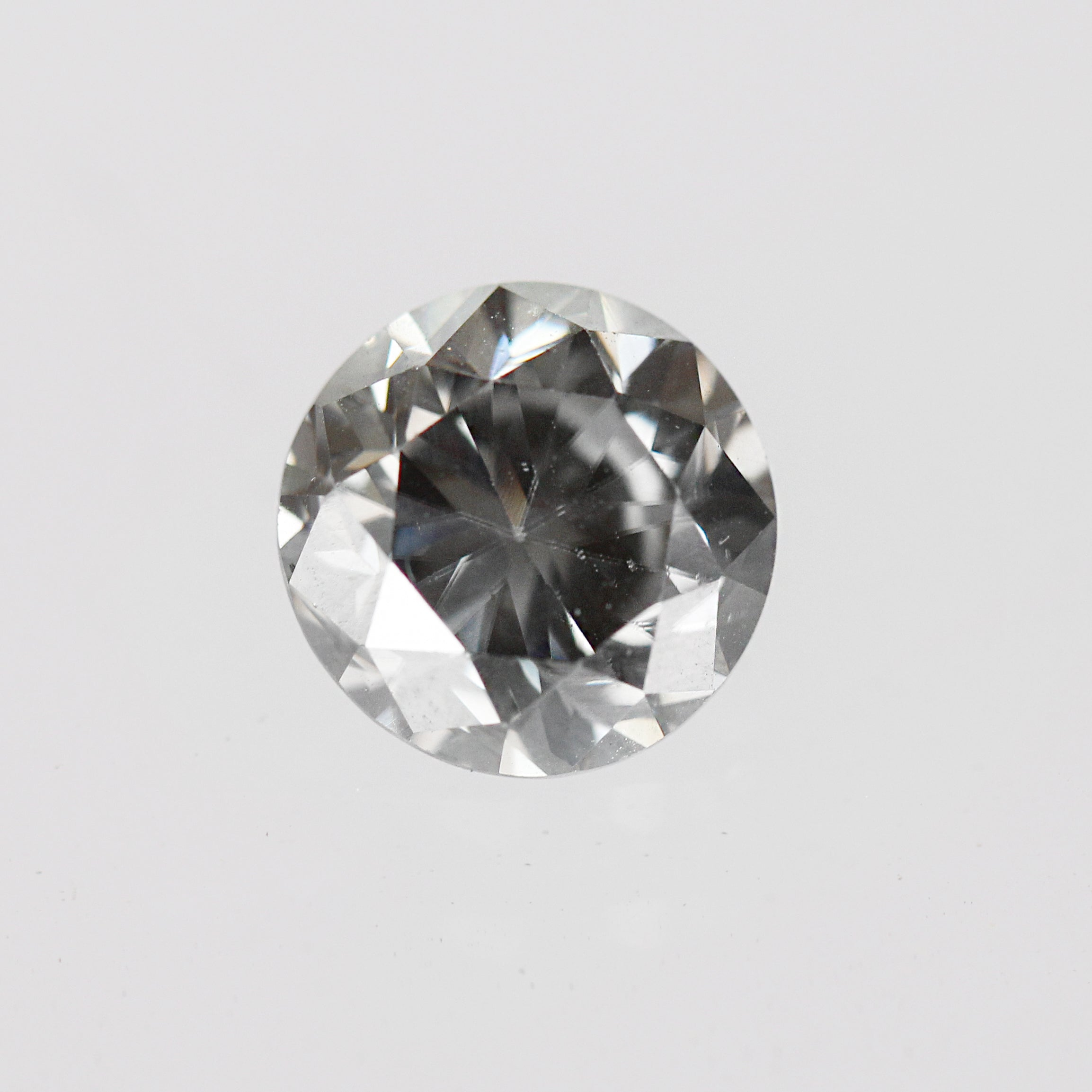 2.64 Carat Round Moissanite for Custom Work- Inventory Code RBMOI264 - Celestial Diamonds ® by Midwinter Co.