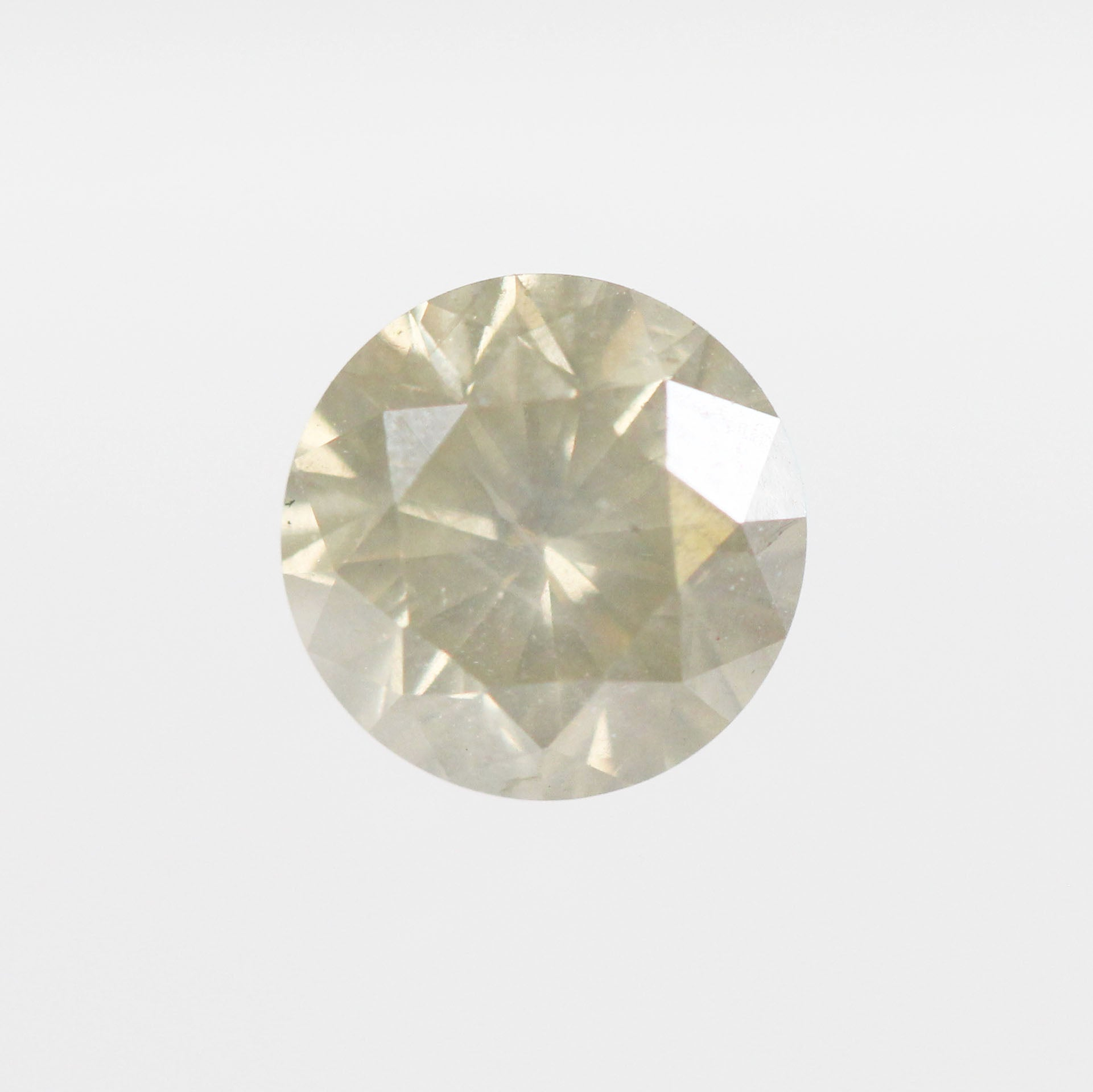 .85 Carat Round Celestial Diamond for Custom Work - Inventory Code RBY85 - Celestial Diamonds ® by Midwinter Co.