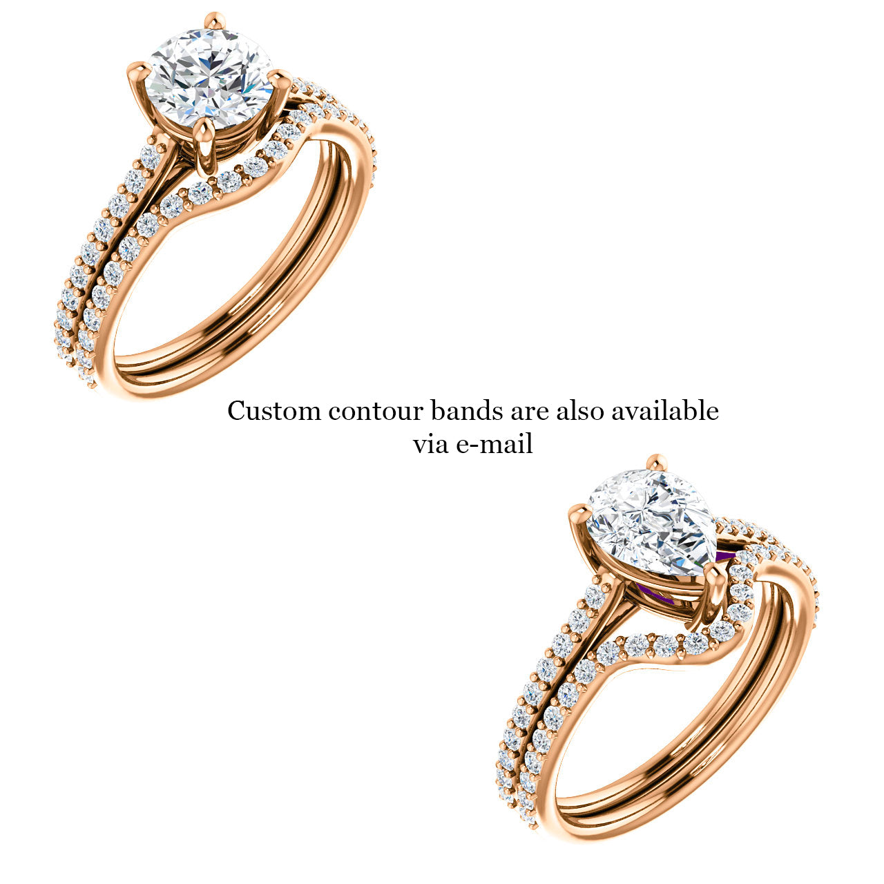 Raine Setting - (redesigned) - Celestial Diamonds ® by Midwinter Co.