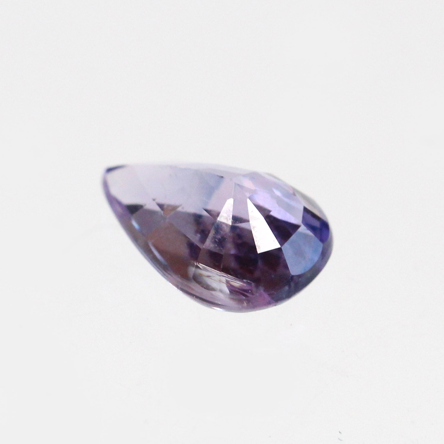 1.12 ct Pear Purple Sapphire for Custom Work - Inventory Code S112