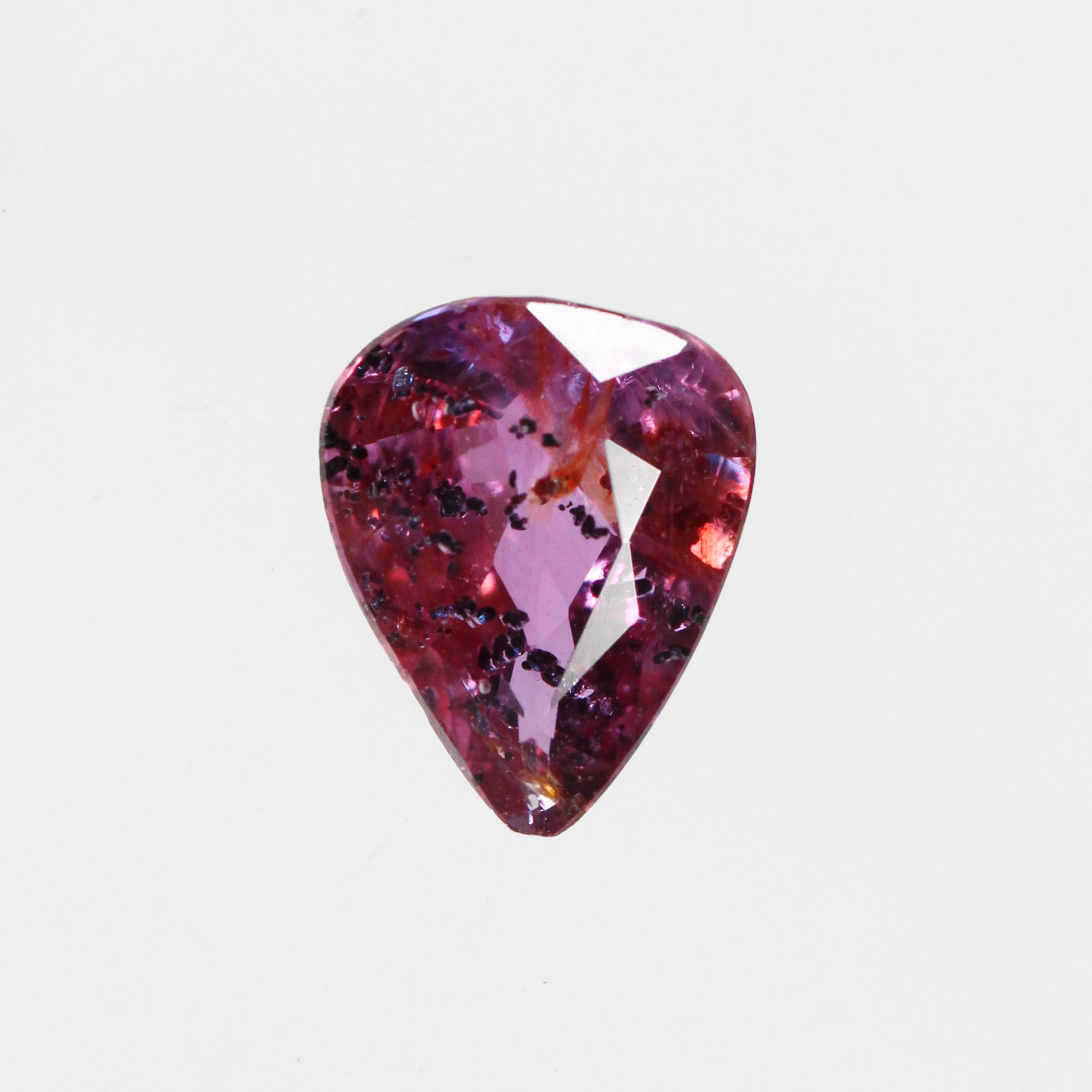 1.24 ct Pear Ruby / Sapphire for Custom Work - Inventory Code S124b