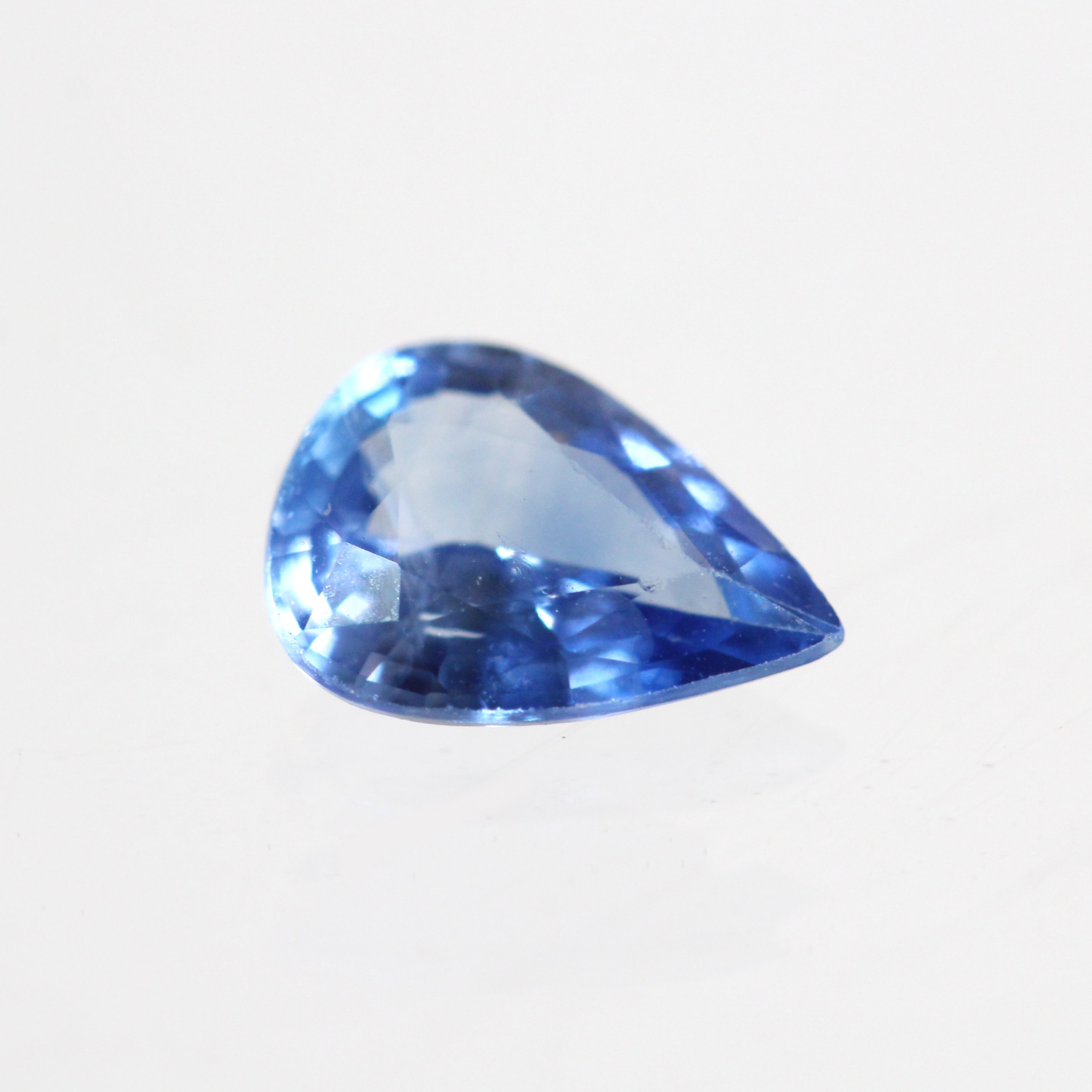 1 ct Pear Cut Sapphire for Custom Work - Inventory Code S7.8