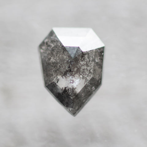 .90 carat gray celestial geometric rose cut diamond - inventory code SB90