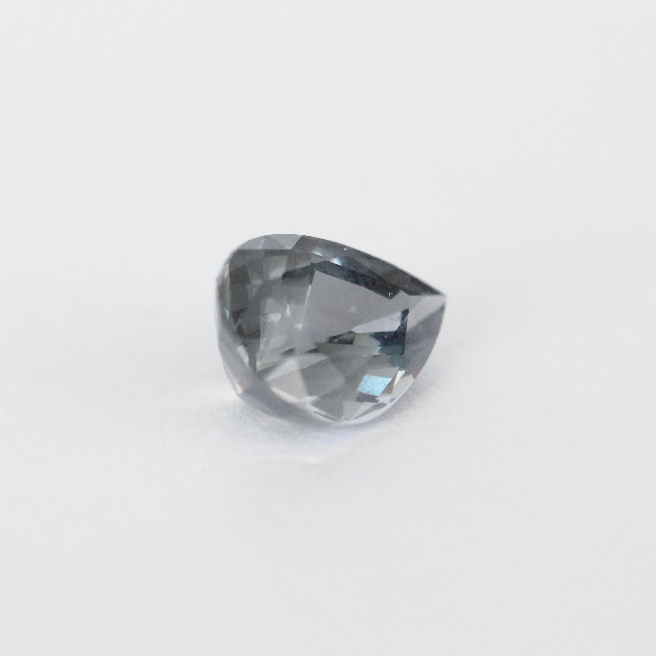 1.30 Carat Pear Gray Spinel - Inventory Code SP13 - Celestial Diamonds ® by Midwinter Co.