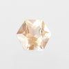 .95 Carat Hexagon Sunstone- Inventory Code SUNHX95 - Salt & Pepper Celestial Diamond Engagement Rings and Wedding Bands  by Midwinter Co.