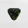 7.89 Carat Trillion Moldavite for Custom Work - Inventory Code TBMG789 - Salt & Pepper Celestial Diamond Engagement Rings and Wedding Bands  by Midwinter Co.