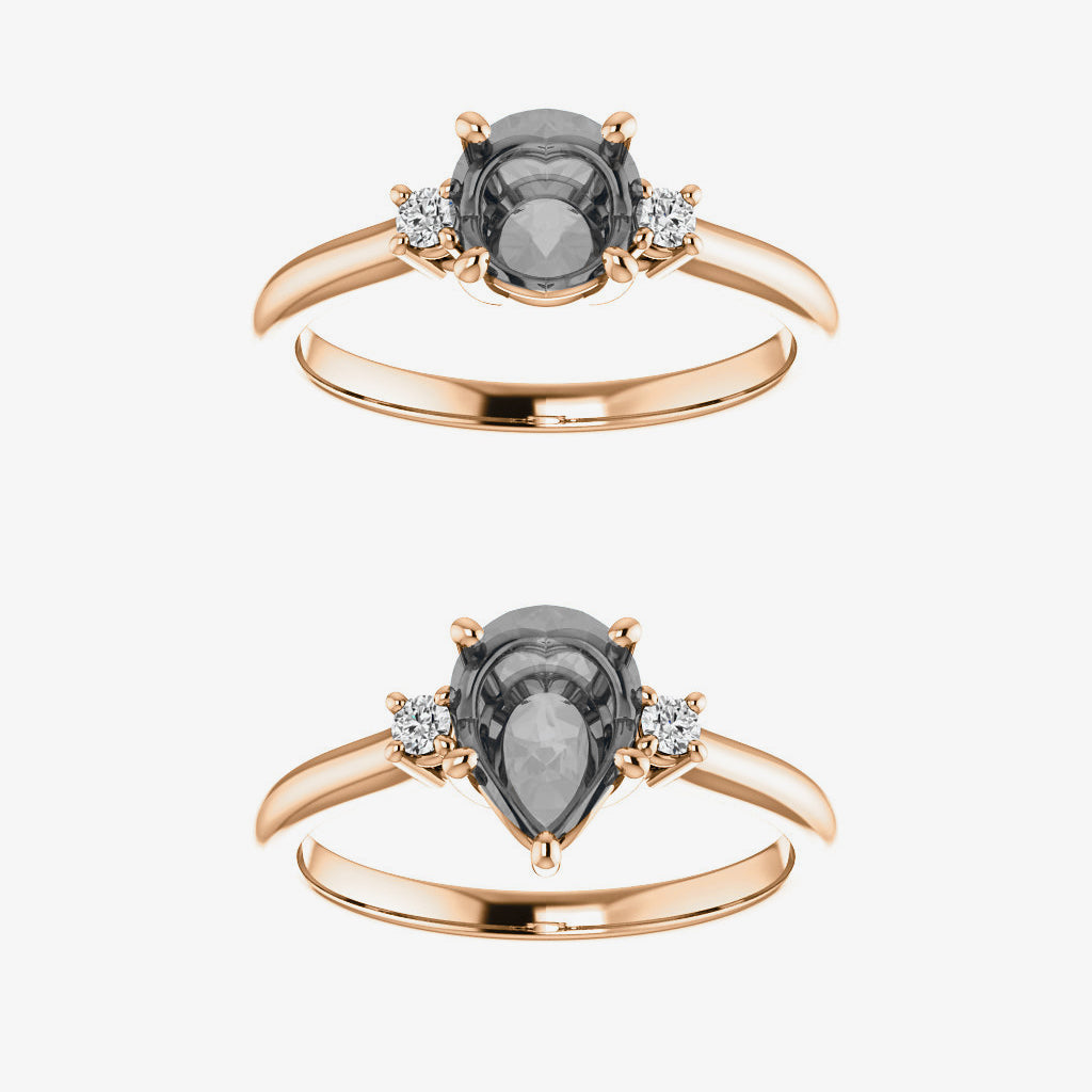 Terra setting - Midwinter Co. Alternative Bridal Rings and Modern Fine Jewelry