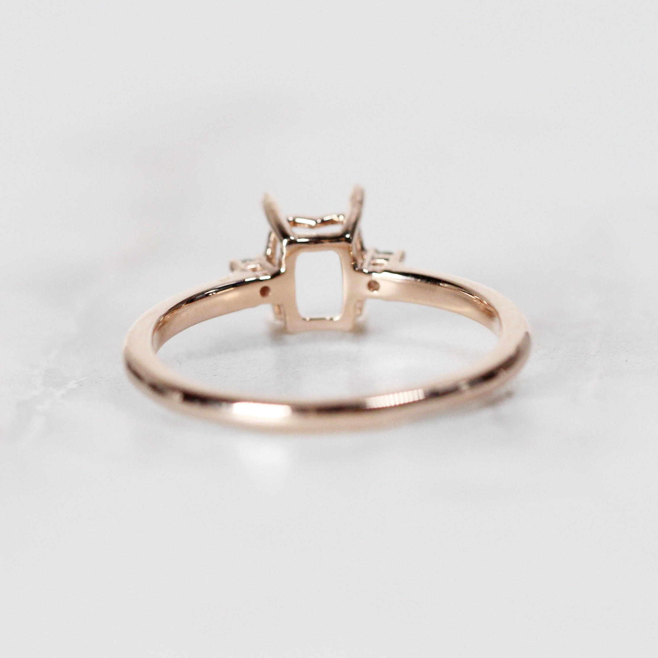 Terra setting - Salt & Pepper Celestial Diamond Engagement Rings and Wedding Bands  by Midwinter Co.