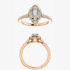 Tinsley Setting - Celestial Diamonds ® by Midwinter Co.
