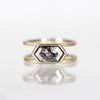 Mae setting - Salt & Pepper Celestial Diamond Engagement Rings and Wedding Bands  by Midwinter Co.