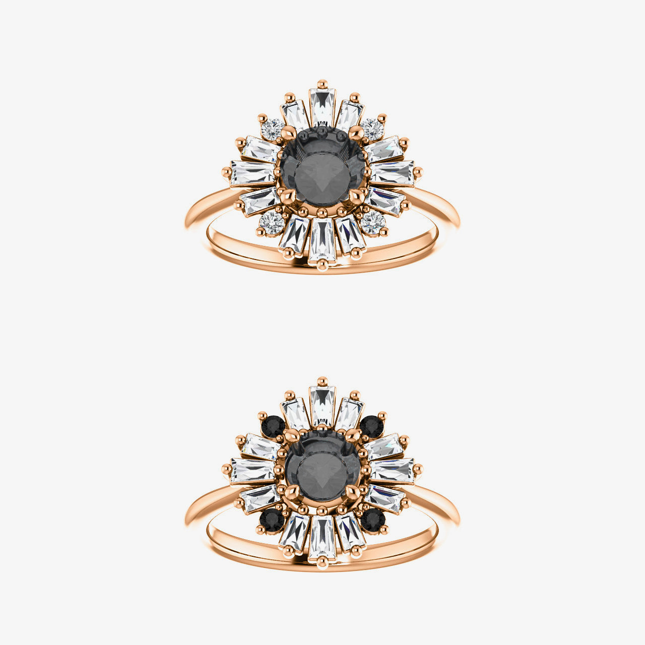 Veda Setting - Celestial Diamonds ® by Midwinter Co.