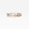 Willow - Wedding Stacking Band in Your Choice of 14K Gold - Celestial Diamonds ® by Midwinter Co.