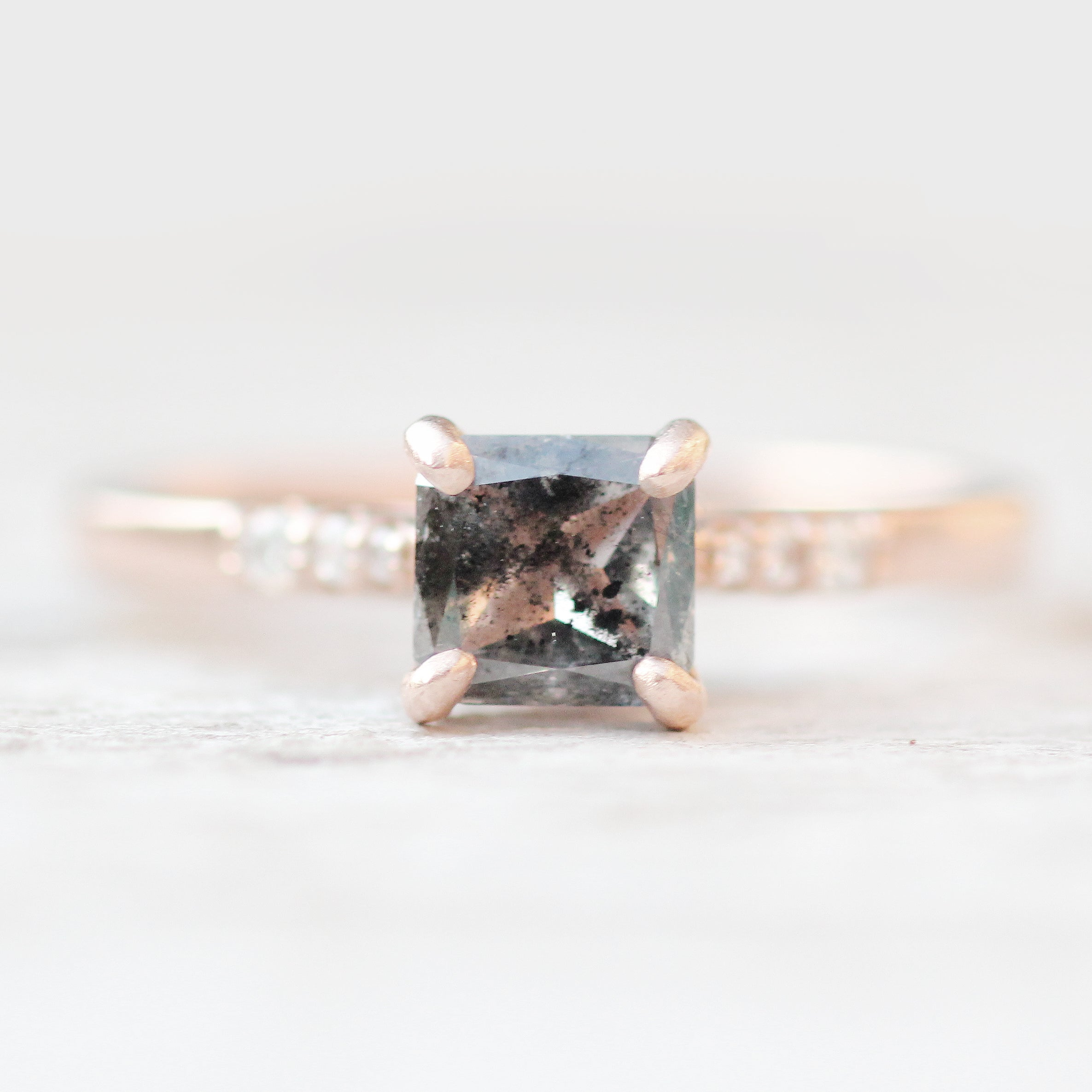 Sloan setting - Celestial Diamonds ® by Midwinter Co.