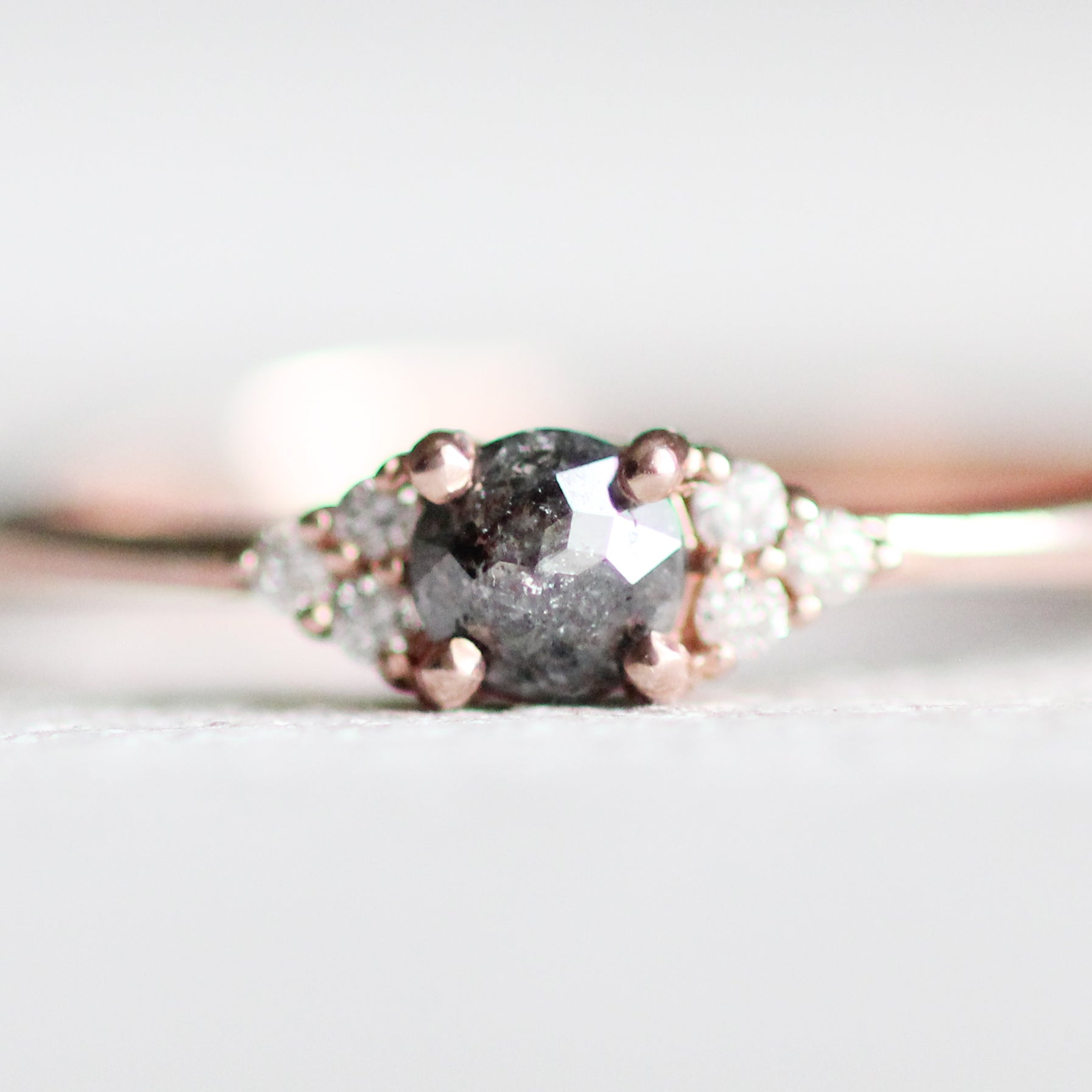 diamond copy ring rosecut jk products rose sm cut baguette house champagne rings echo solitaire engagement still nyc