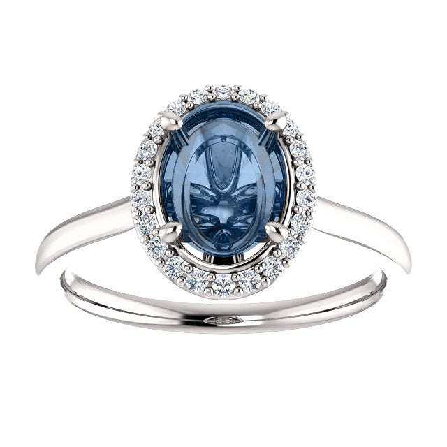 Coryn Setting - Midwinter Co. Alternative Bridal Rings and Modern Fine Jewelry