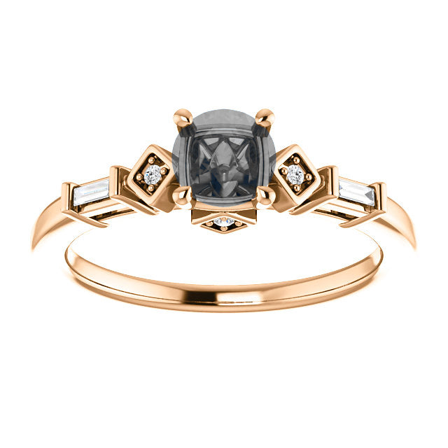 Esther Setting - Celestial Diamonds ® by Midwinter Co.