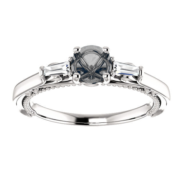 Bella setting - Celestial Diamonds ® by Midwinter Co.
