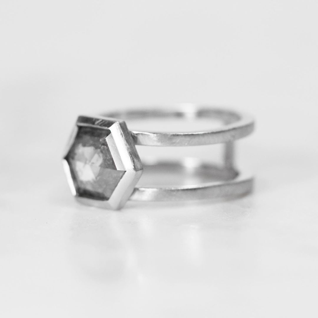 Inspiration Ring - Mae Setting - Choose your stone + metal - Celestial Diamonds ® by Midwinter Co.
