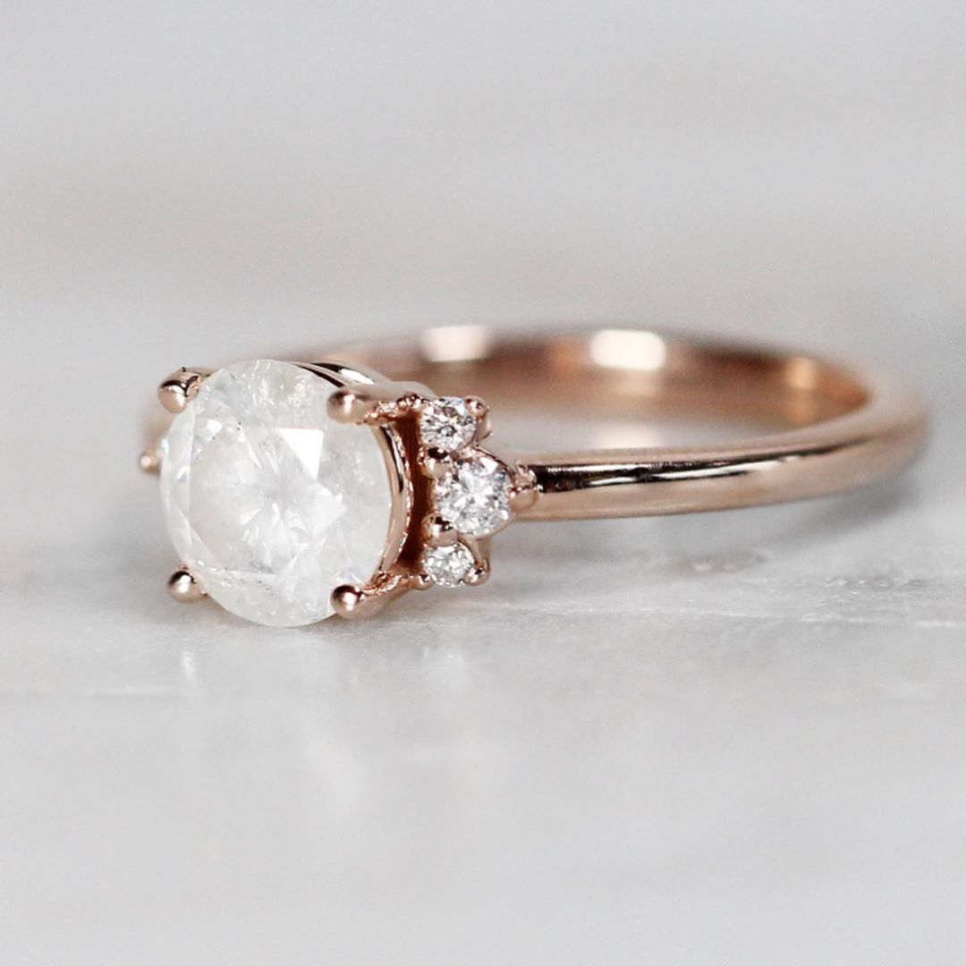 Inspiration Ring - Loren Setting - Choose your stone + metal - Celestial Diamonds ® by Midwinter Co.
