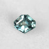 1.25 carat Geometric Shaped Teal Sapphire for Custom Work - Inventory Code SAP125 - Celestial Diamonds ® by Midwinter Co.