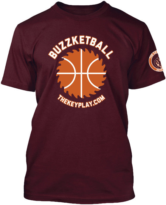 Virginia Tech Hokies BUZZKETBALL Tee Shirt