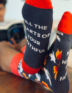 Holy Spirit-Premium Sock