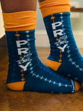 Load image into Gallery viewer, PRAY the Rosary- Premium Socks
