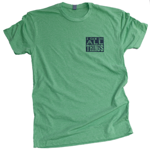 I Can Do All Things (Apple Green) Premium Tee
