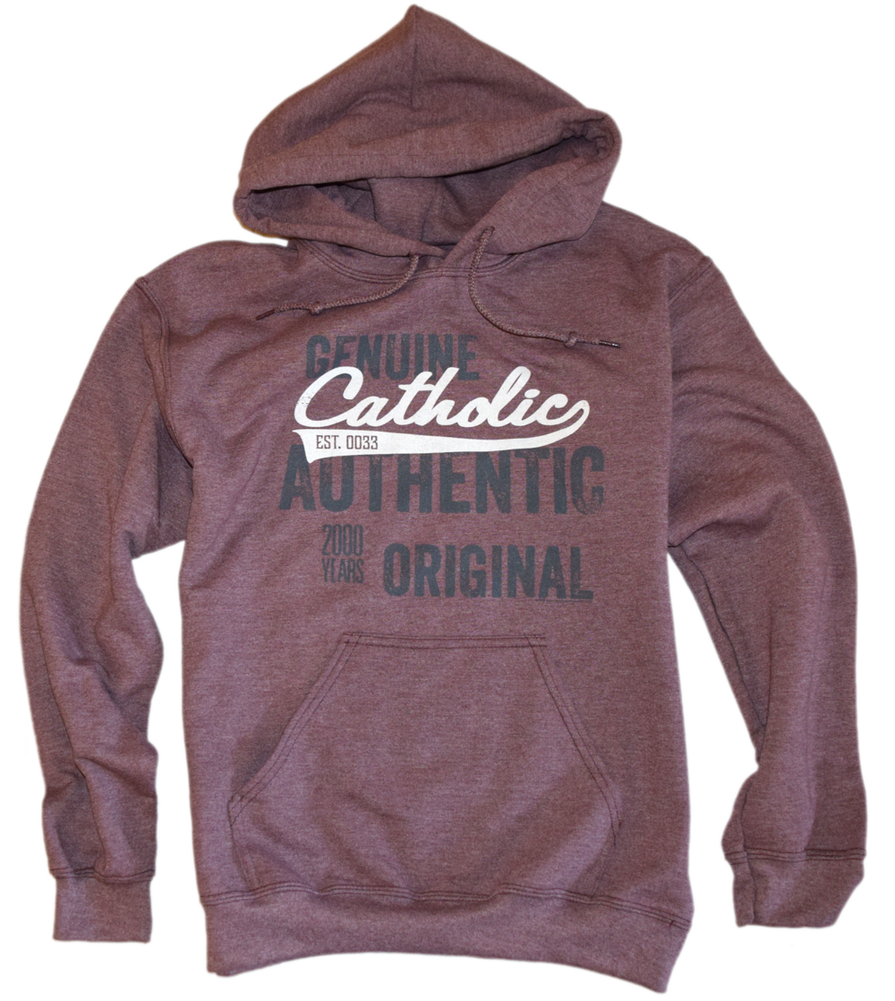 Catholic Swoosh- Genuine, Authentic, Original Premium Hoodie