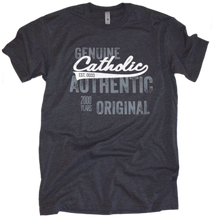 Load image into Gallery viewer, Catholic Swoosh- Genuine, Authentic, Original Premium Tee