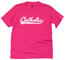 Load image into Gallery viewer, Catholic Swoosh Youth Tee