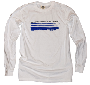 Mother Teresa Pro-Life Heavyweight Garment Dyed Premium Long Sleeve