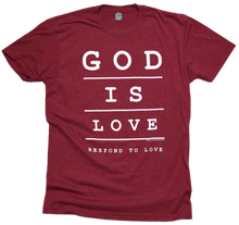 Load image into Gallery viewer, God is Love Premium Tee