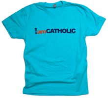 Load image into Gallery viewer, I am CATHOLIC Premium Tee