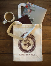 Load image into Gallery viewer, Cor Mariae Tote Bag