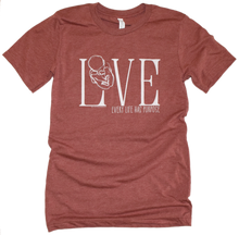 Load image into Gallery viewer, Love- Pro Life Premium Tee