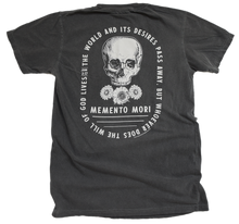 Load image into Gallery viewer, Memento Mori Premium Lightweight Garment-dyed Tee