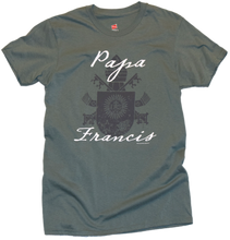 Load image into Gallery viewer, Papa Francis Crest Premium Tee