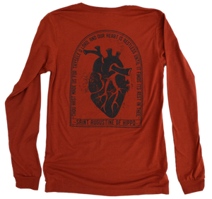 Restless Heart Premium Tri-blend Long Sleeve Tee