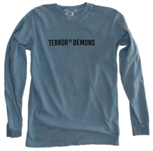 Load image into Gallery viewer, Saint Joseph - Terror of Demons Long Sleeve Heavyweight Garment Dyed Tee