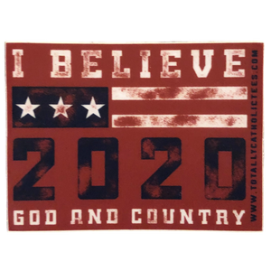 I Believe 2020 Sticker