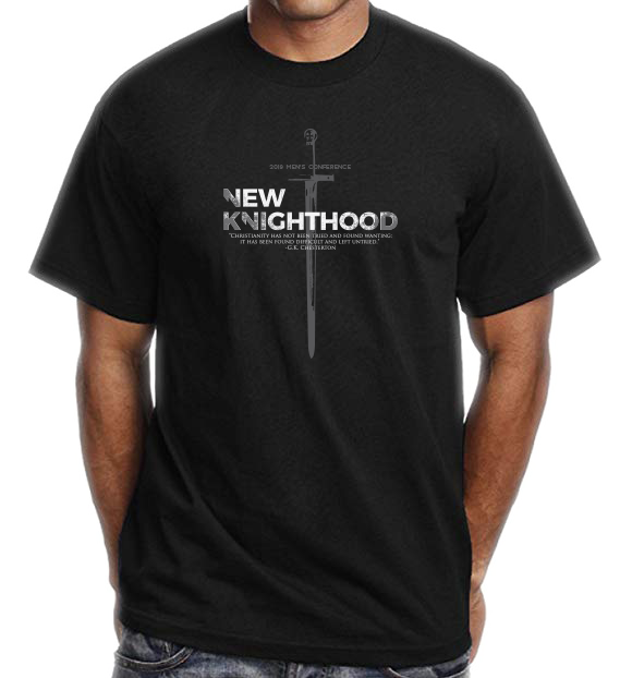 Diocese of Phoenix's Official 2019 Men's Conference Premium Tee