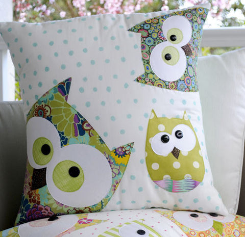 Family of Owls - Cushion
